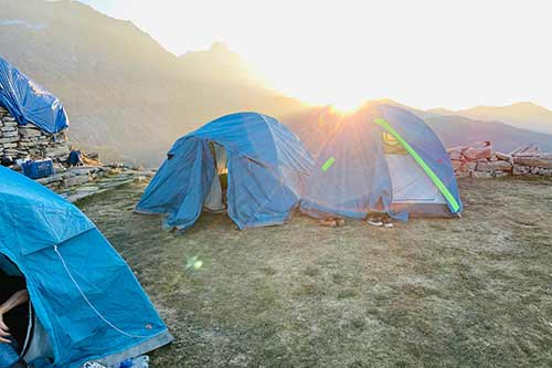 Accommodation camp site