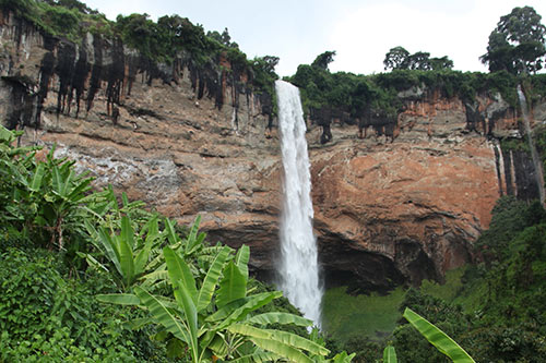 Amazing view of Sipi falls